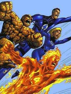 fantastic four comic art | Fantastic_Four_Comic_Art.jpg