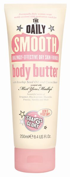 Soap & Glory The Daily Smooth Body Butter 250ml.