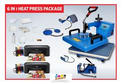4d293f0b 6 IN 1 HEAT PRESS PACKAGE INCLUSIONS: • 1 unit 6 in1 Sapphire Heat Press · Sublimation  PaperPc ...