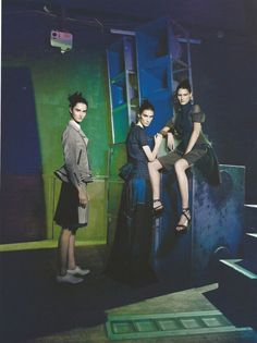 Barneys Campaign SS 2013 - Mackenzie Drazan, Marie Piovesan and more by Paolo Roversi