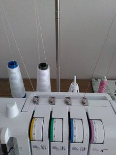 Easy 50 sewing hacks projects are readily available on our web pages. look at this and you wont be sorry you did. Sewing Hacks, Sewing Tutorials, Cover Lock, Overlock Machine, Towel Apron, Grocery Bag Holder, Notebook Case, Fabric Headbands, Sewing Projects For Beginners