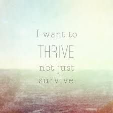 i want to THRIVE not just survive #switchfoot