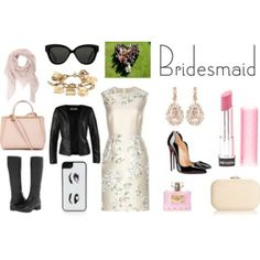 Not only bridesmaid http://tulleeconfetti.com/