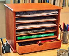 Simple Wooden Desk Tray Plans – Woodworking Plans and Projects | Woodworking Session