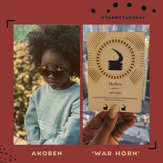This week's #TarotTuesday pull is: 'Akoben' = 'Warhorn' . . .  It's a good time to be vigilant.  To SEE everything. Particularly the thorny parts of self, your relationships, your narratives, your reality, your imagination. #VenusRetrograde is with us until #June 25 and it's a prime time to be deceived. Stay ready so you don't have to get ready. 🔪 💫 Question everything but don't over index on mistrust. You got your (spiritual) army to lead you remember, not your #MonkeyBrain. 💫… Question Everything, Prime Time, Cursed Child Book, Tarot, Imagination, Relationships, Spiritual, Harry Potter, June