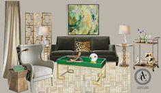 glam space resized by Amanda Carol interiors