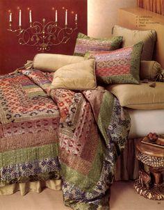 Saree Silk Bedding