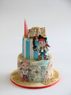 Jake and the Never Land Pirates By alice79 on CakeCentral.com