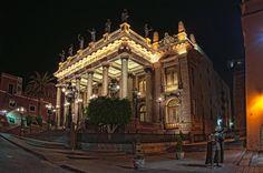 Teatro Juarez Nocturna by Photografika on 500px