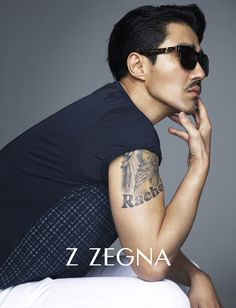 Cha Seung Won Shows Off His Intense Masculinity In New Z ZEGNA Ads   Couch Kimchi
