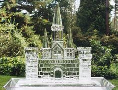 ice sculptures castles - Google Search