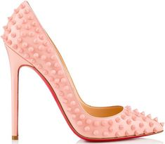 Pink pumps. Christian Louboutin Spring/Summer Collection