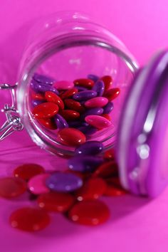 Red and Purple Candy