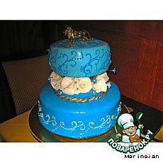Рекомендации по покрытию торта мастикой - кулинарный рецепт