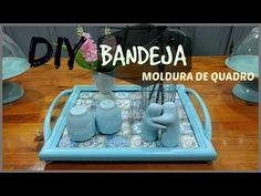 BANDEJA CRIATIVA  HOME&DECORA   LETICIA ARTES