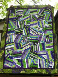 Molly's Crazy Cookie Quilt by Bobyn of the Books