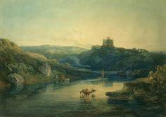 Joseph Mallord William Turner 'Norham Castle, Sunrise', c.1798 © Trustees of the Cecil Higgins Art Gallery, Bedford, England