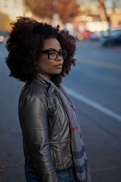 afro hair with large glasses Over The Top, Black Power, Curly Hair Styles, Natural Hair Styles, Twisted Hair, Pelo Natural, Au Natural, Natural Beauty, My Black Is Beautiful
