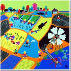 Chinese Folk Art: Colorful And Lively | Busy Planting in May | Home Goes Strong