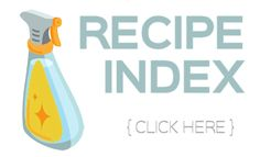 Recipe Index - The Make Your Own Zone