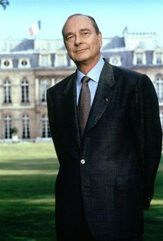 JACQUES CHIRAC  (1995-2007) DEUX MANDATS Cinquième République