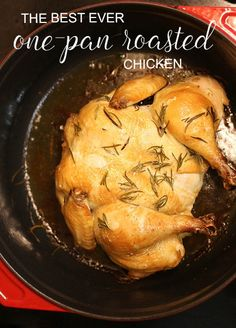 one pan roasted chicken