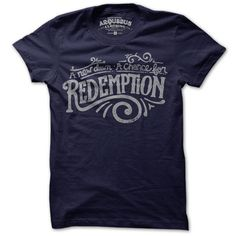 Redemption Tee (Navy) by Arquebus Clothing - fab.com