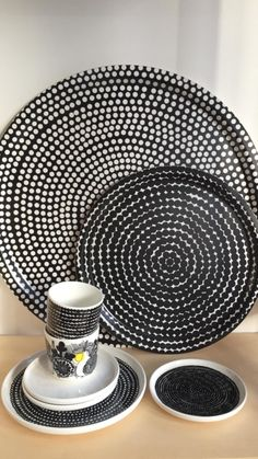 North Europe, White Industrial, Marimekko, Danish Design, Scandinavian, Objects, Plates, Dishes, Interior Design