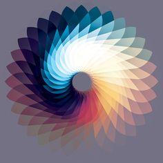 oO - andy gilmore / Un maître de la couleur et de la composition géométrique