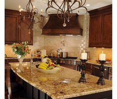 Tuscan Kitchen Design Ideas & Pictures