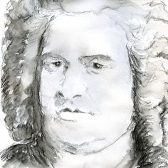 Johann Sebastian Bach (31 March 1685 – 28 July 1750) composer, organist, harpsichordist, violist, and violinist