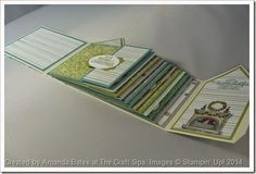 All is Calm 12 Days of Christmas Holiday Home House Mini Album by Amanda Bates at The Craft Spa. Inside Flat.