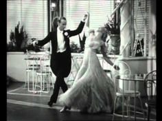 Fred Astaire & Ginger Rogers - Night And Day, The Gay Divorcee, 1934 - swoony....moonlight...tuxedos.. classic!!!!