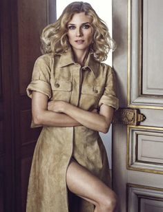 Diane Kruger by Signe Vilstrup for Glamour Italia August 2015 - CHANEL Fall 2015