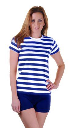 aef569713539 Womens Celeb Designer Inspired Casual Loose Top Ladies T-Shirt Slogan Stripe  Tee