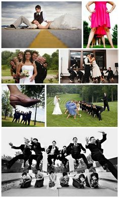 Unique wedding photos...some are really funny