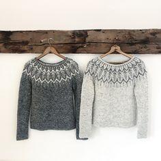 Jennifer Wood, Handgestrickte Pullover, Icelandic Sweaters, Fair Isle Knitting, Garter Stitch, Pulls, Foto E Video, Lana, Knitting Patterns