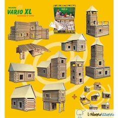 Walachia - Costruzioni in legno - VARIO XL 184 pezzi | lalberoazzurro.net