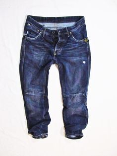 mens  jeans G-Star  loose tapered  size L  waist 80 cm #GStar #BaggyLoose