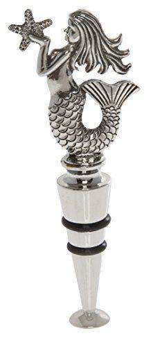 Thirstystone Mermaid Wine Stopper, Silver Thirstystone http://www.amazon.com/dp/B00VNMJHO4/ref=cm_sw_r_pi_dp_m7fVvb0CG11T5