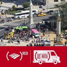 Ready for #lunch? Stop by the Food Truck Rally today from 11 am-5 pmat #GrandArmyPlaza! Use your Bank of America card at participating trucks and they'll donate forty cents to @RED's fight against AIDS #onestep4RED #86AIDS #ProspectPark #food #brooklyn #nyc #foodtrucks