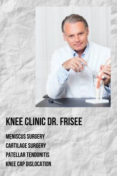The team of doctors at the knee clinic Dr. Frisee focuses on the long-term correction and regular care of all symptoms that occur in the knee joint. The treatment concept of the knee specialists is tailored to the individual lifestyle and the respective movement behaviour of the patient. Competent clarification and accurate diagnosis are the basis for the treatment of simple and complex knee injuries #orthopaedicsurgery #medicine #health #austria #ortho #treatment Patellar Tendonitis, Cruciate Ligament, Medical Spa, Medical Field, Arthroscopic Knee Surgery, Meniscus Surgery, Knee Cap, Joint Replacement, Knee Injury