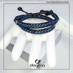 Pulseira em Chan Luu com esferas de Hematita Azul e prata 925. @felipetitto #pulseiras # #pulseirismo #dogma #acessórios #spfw #couro #dogmaacessorios #felipetitto #dogmastore #moda #prata #prata925 #man #homem