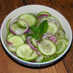 Sweet and Tangy Thai Cucumber Salad Photos - Allrecipes.com