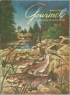 Gourmet Magazine May 1954
