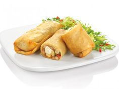Receta de  Burritos de Pollo con Queso Crema | Muy fácil y muy deliciosa receta de burritos de pollo con queso crema, te invito a que la pruebes y descubras su gran sabor.