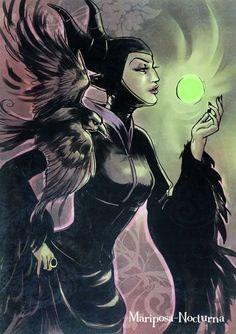 #Disney #Villain Queen Maleficent