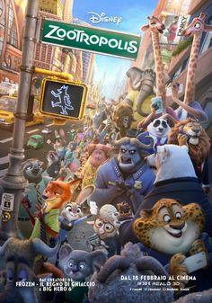 Zootropolis, il nuovo film d'animazione Disney di Byron Howard e Rich Moore, dal 18 febbraio al cinema.