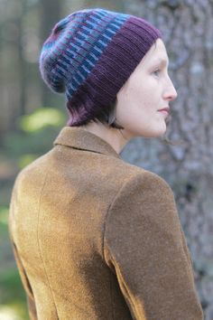 desafinado hat and mitts set by véronik avery / in quince & co. piper