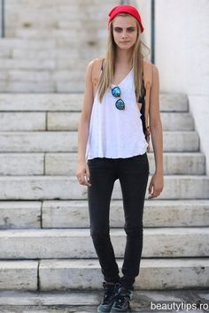 Cara D. is my favorite model because of her expressions and youthful approach to the business.